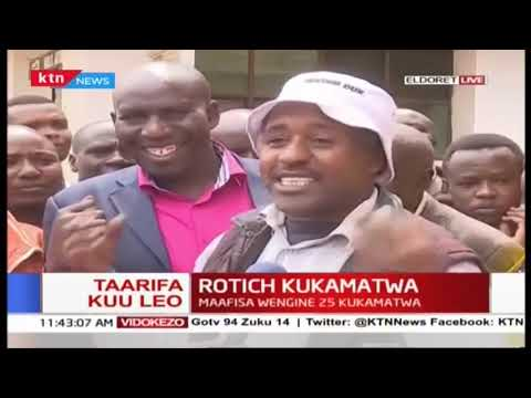 Eldoret Reisidents on arrest of CS Rotich: Our tribe is known as \
