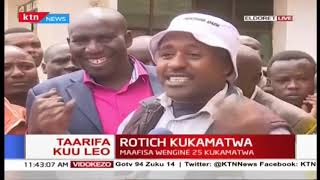 Eldoret Reisidents on arrest of CS Rotich: Our tribe is known as