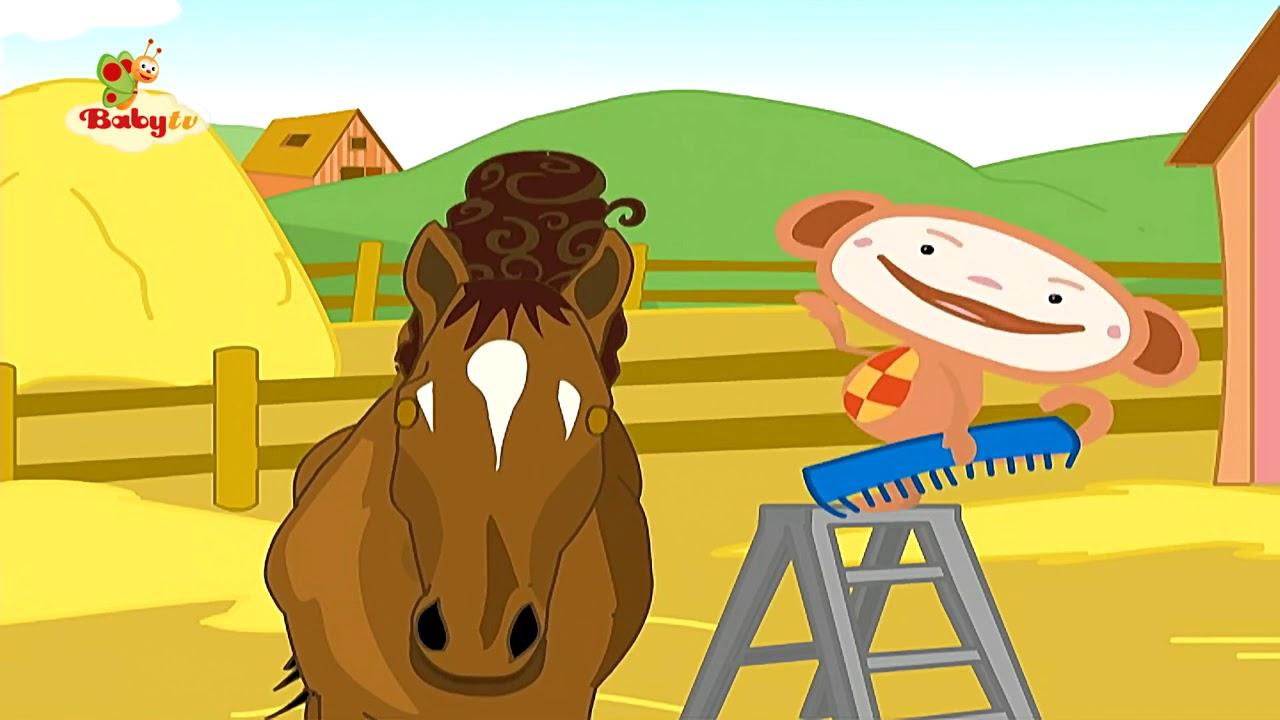 مغامرات اوليفر تسريحة الحصان اغاني اطفال حضانة روضة العاب