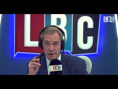 NEW - The Nigel Farage Show - Thursday FULL SHOW HD - 12-01-2017