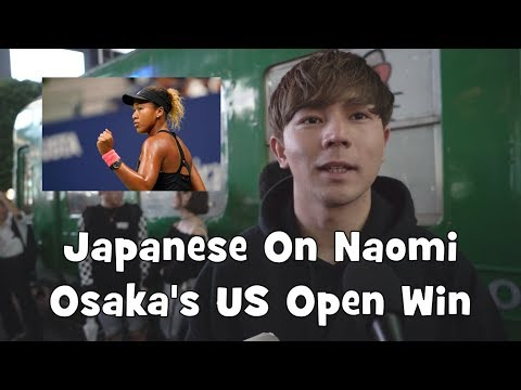 Japanese React to Naomi Osaka's US Open Victory (Interview)