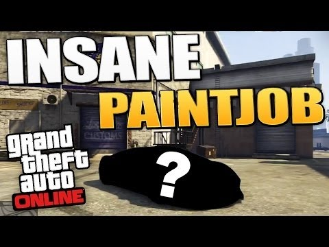 GTA 5 Paint Jobs: IRON MAN GOLD! Best RARE/AWESOME Paint Jobs Online! (GTA 5 NEW Online Paint Job)