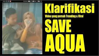 Klarifikasi Parodi Save Aqua