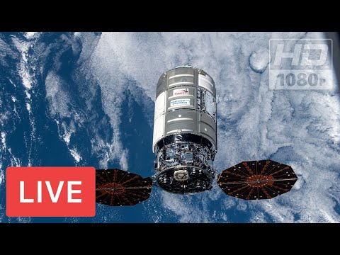 WATCH LIVE: Cygnus cargo spacecraft NG15 NASA resupply mission Docking to the ISS #CRS15 @04:40am ET