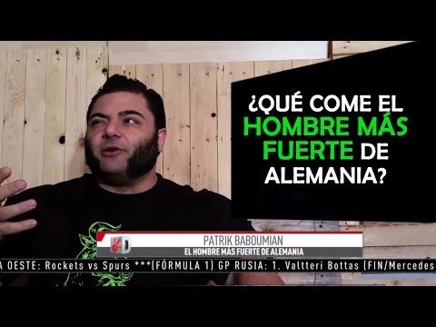 Qué Come El Hombre Más Fuerte De Alemania Comer Vegano En Claro Sports Youtube