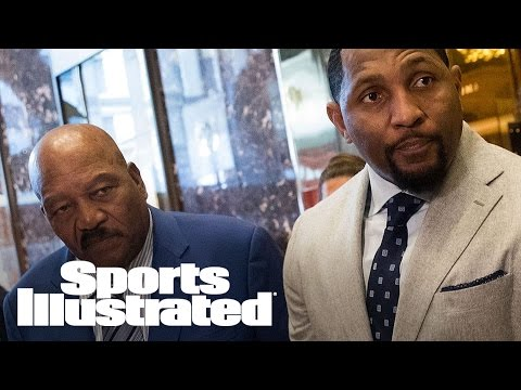 Ray Lewis And Jim Brown Met With Donald Trump At Trump Tower | SI Wire | Sports Illustrated