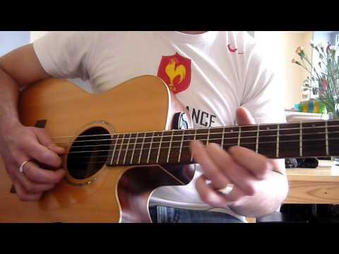 guitare acoustique reggae