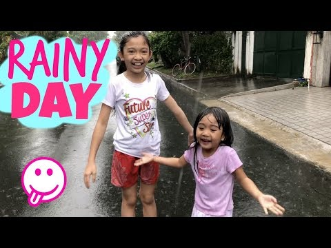 RAINY DAY with Kaycee & Rachel