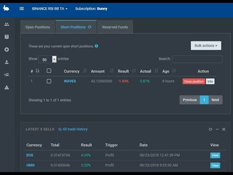 Cryptocurrencies trading bot using r