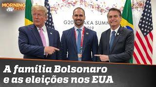 A família Bolsonaro deve 'ficar fora' das eleições americanas?
