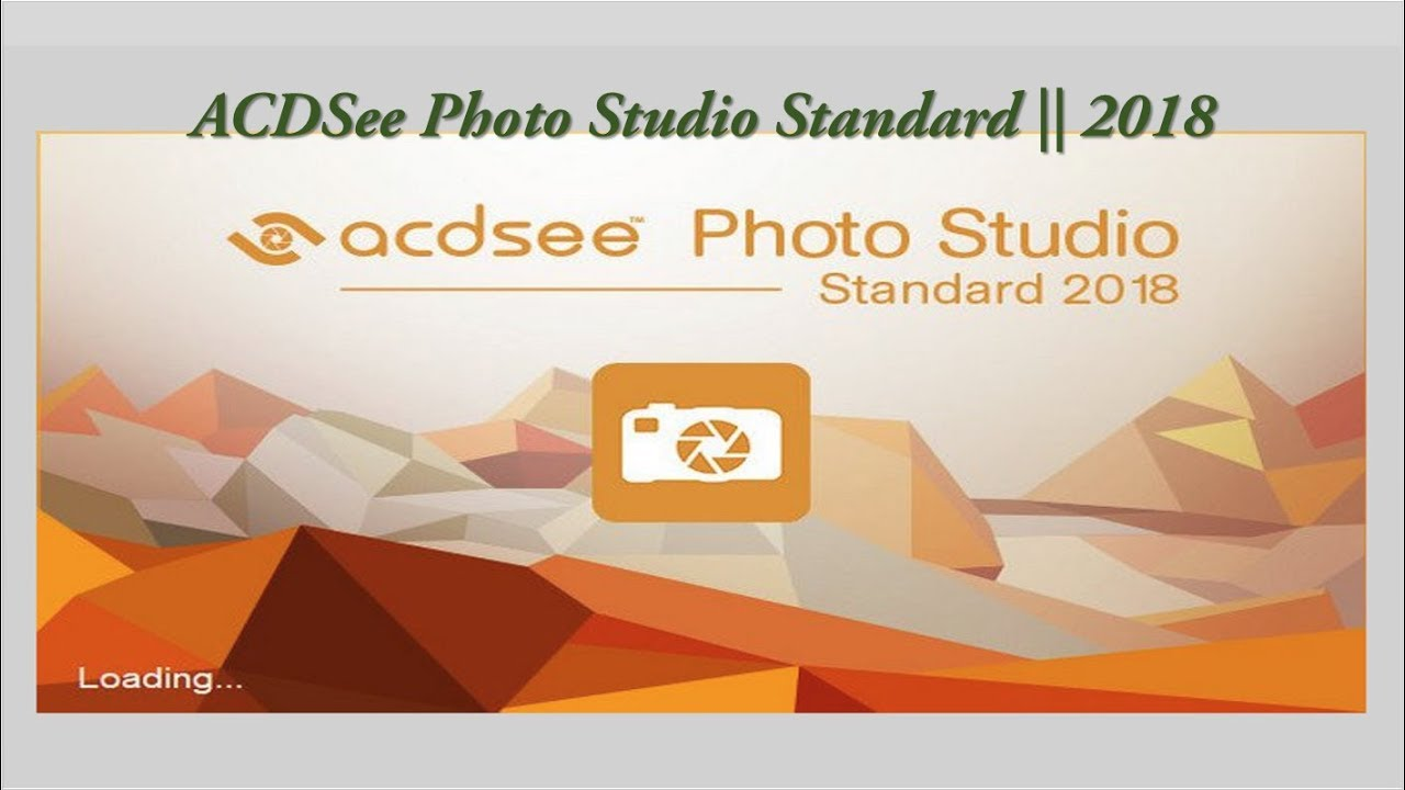 acdsee photo studio standard 2018 español