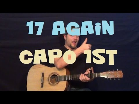 17 Again Brantley Gilbert Easy Strum Guitar Lesson How To Play