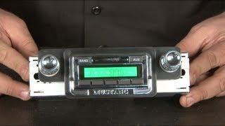 Mustang Custom Autosound USA-2 Radio 1965-1966