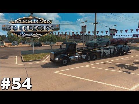 Cars - Show Low to Yuma [414mi] - American Truck Simulator [ep54]