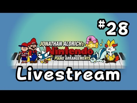 Piano Livestream #28 - April (Snow) Showers