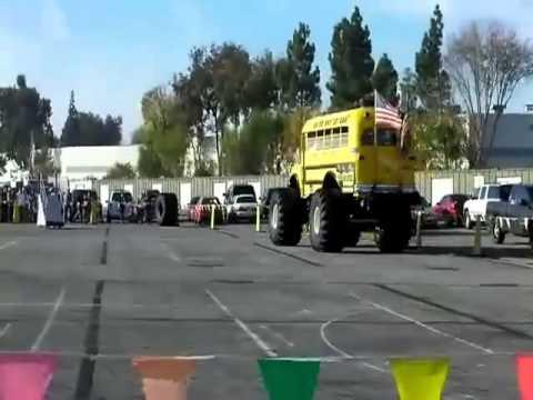 American Monster School Bus!