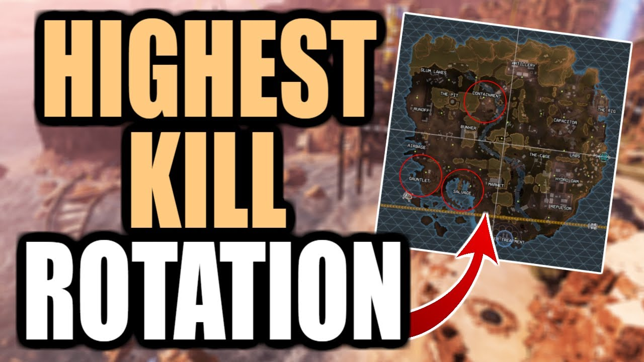 THE BEST ROTATION FOR HIGH KILL GAMES IN SEASON 5? (APEX LEGENDS)