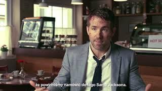 BODYGUARD ZAWODOWIEC - Ryan Reynolds wywiad (premiera: 18.08.2017) thumbnail