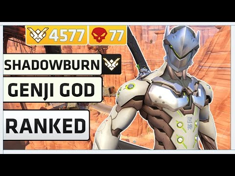 Rank 1 Genji Pro Player Shadowburn | Overwatch