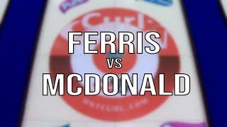 2020 Tankard - Ferris vs Mcdonald