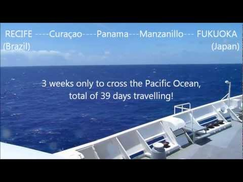 Crossing the Pacific Ocean: Day & Night on Board The Ocean Dream Cruise Ship
