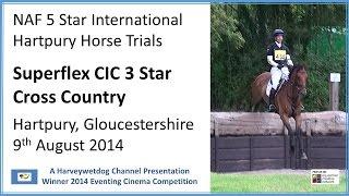 NAF International Hartpury Horse Trials: 3 Star Cross Country