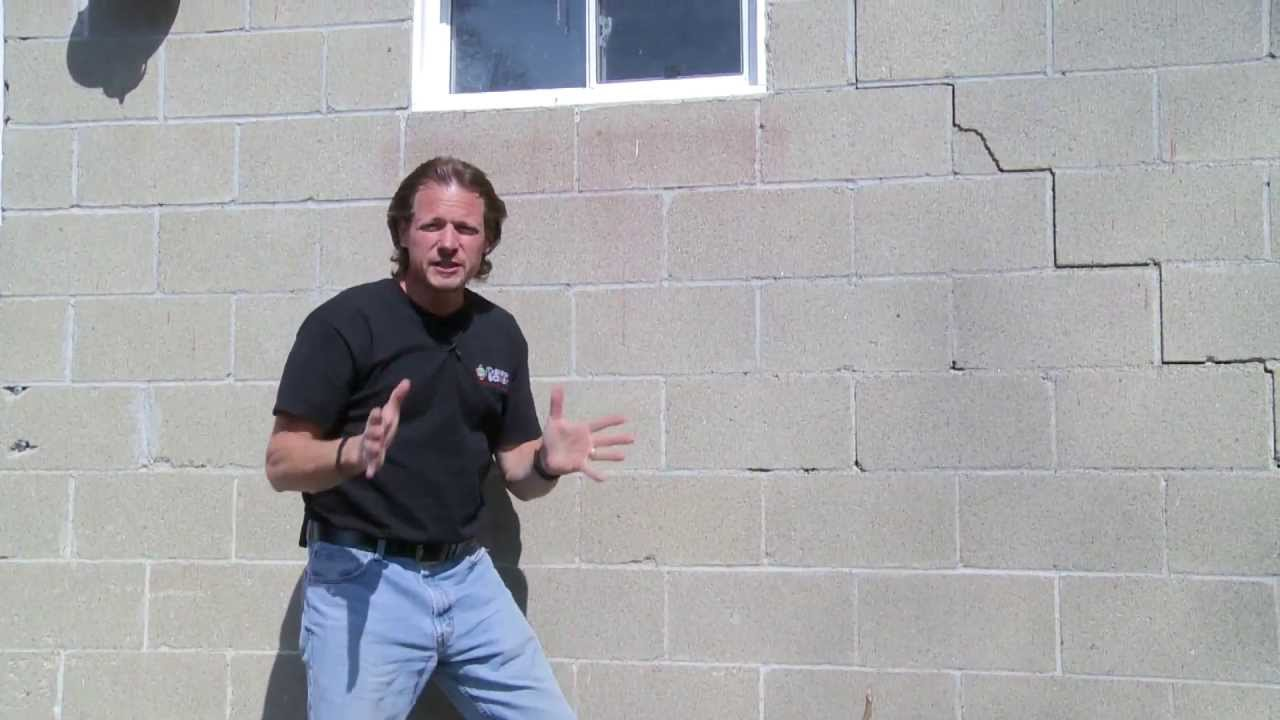 Sealing And Insulating A Stone Foundation Wall With Spray