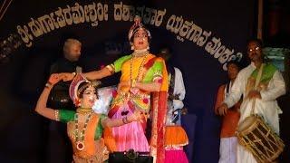 Yakshagana Tulu -- Banatha bangar -  Subbi & Karunya - 1