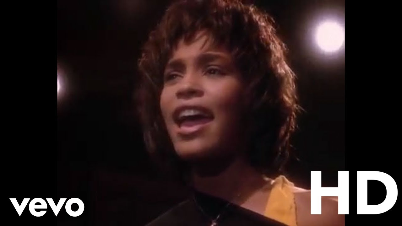 Whitney Houston Saving All My Love For You Official Music Video