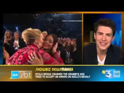 Grammys Crasher Vitalii Sediuk Tells All - Exclusive