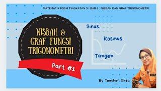 #TeacherSinta #65 | Part #1 | Nisbah & Graf Fungsi Trigonometri | Matematik KSSM Tingkatan 5 ❤