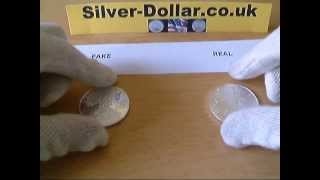 Counterfeit Coins - How To Spot Fake Chinese Silver Eagle Dollars On eBay