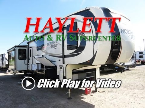 HaylettRV.com - 2017 Jayco North Point 377RLBH Middle Bunk Bonus Room Rear Living Fifth Wheel RV