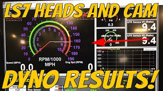 AHP LS7 Street Ported Heads and 116 Cam Corvette Z06 DYNO RESULTS!