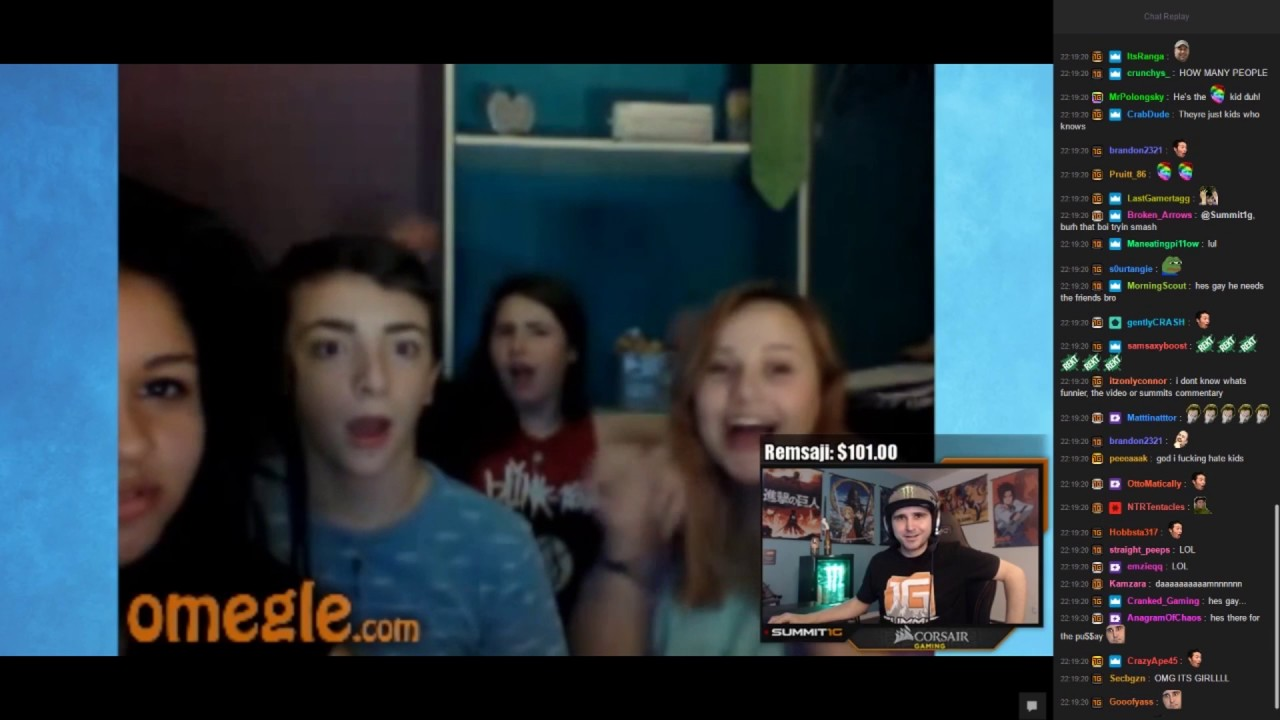 Omegle reaction