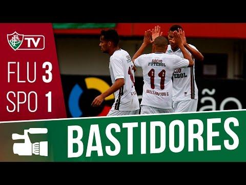 FluTV - Bastidores - Fluminense 3 x 1 Sport - Campeonato Brasileiro 2016