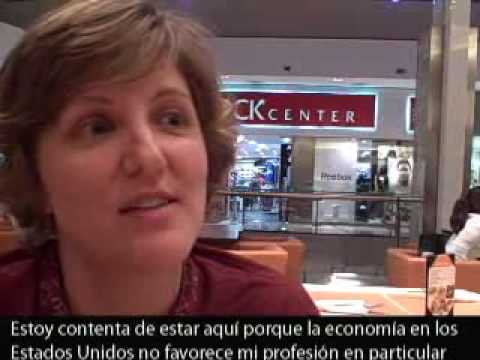 US financial crisis and expats in Buenos Aires, Argentina