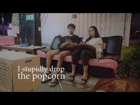 I stupidly drop the popcorn – หนังสั้น