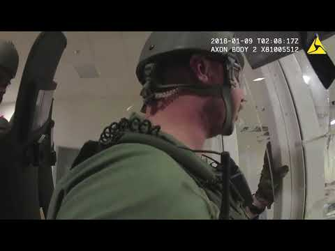 Sheriff body camera video shows riot at Cuyahoga County Juvenile Detention Center