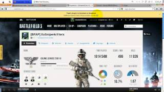 How to Sign Up  to (BF3) BattleLog for your Xbox or PS3 (easy)