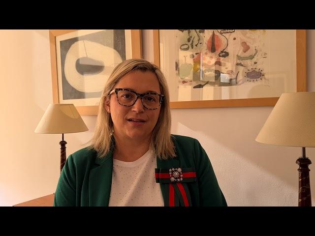 Nayra Castro, nos ofrece declaraciones sobre la apertura de plazas de Enfermería.