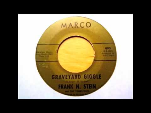 RARE!!  Frank N Stein - Graveyard Giggle - Michael Z. Gordon