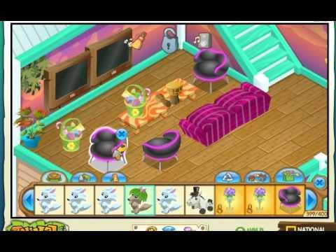 Decorating Beach House Animal Jam