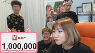 Countdown 1.000.000 subscribe cả nhà ơi ^^