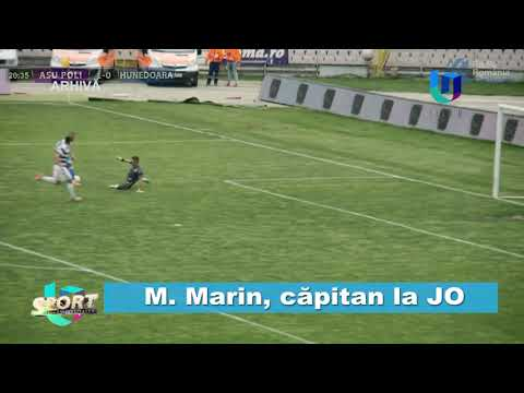 TeleU: M. Marin, căpitan la JO