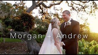 Morgan + Andrew Wedding Video | Sarasota, Florida | Marie Selby Botanical Gardens
