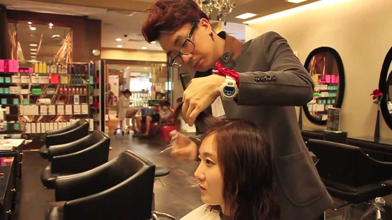 Styling Asian Hair: [Korean Hairstylist Edward Kim] Hair Cut & Styling