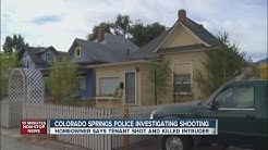 Man shot and killed breaking into Colorado Springs home