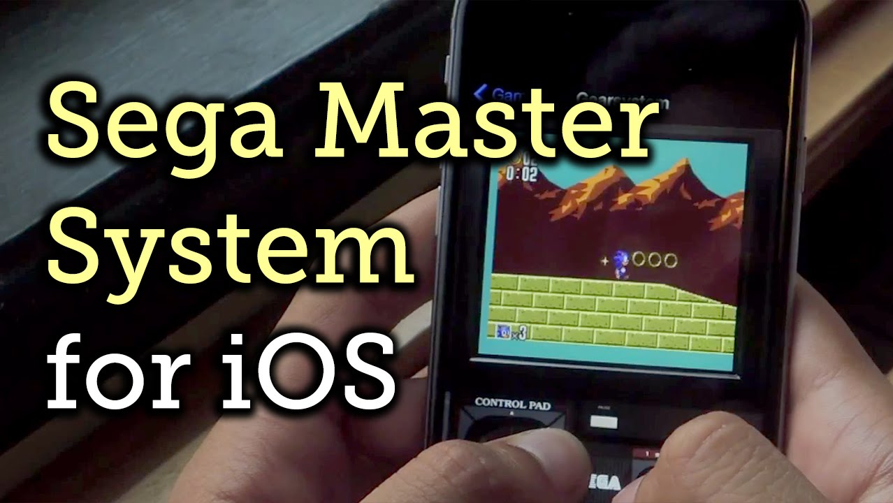 Play Sega Master System Games on Your iPad and iPhone « iOS & iPhone