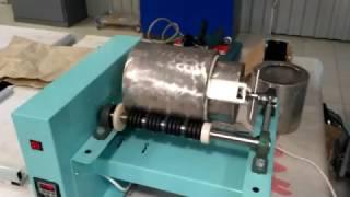 Мельница лабораторная ЛМФ-1, процесс работы(Мельница ЛМФ-1 предназначена для мокрого и (или) сухого помола материалов твердостью до 8 ед. по шкале Мооса..., 2016-10-27T07:49:03.000Z)
